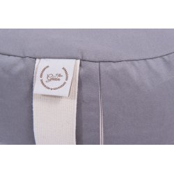 Meditation cushion 55x7 cm with buckwheat hull