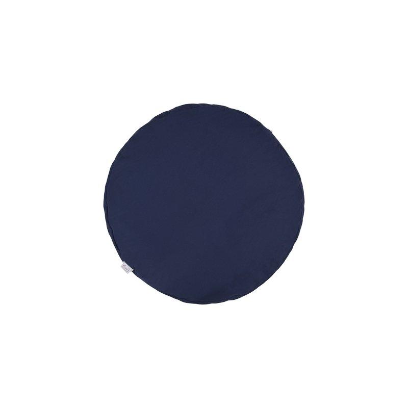 Pufa okrągła duża z łuską prosa - kolory Mindfulness