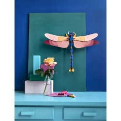 WALL DECORATION - GIANT DRAGONFLY