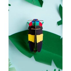 WALL DECORATION - JEWEL BEETLE