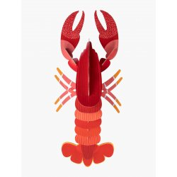 WALL DECORATION - LOBSTER