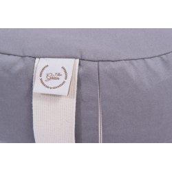 Meditation cushion 33x12 cm with spelt hull