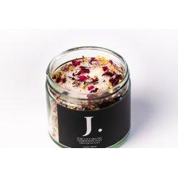 Bath salt with jasmine 250ml - J. Pure love organic jasmine/rose bath and sauna salt