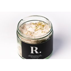 Bath salt with rosemary 500ml - R. Positive energy pure organic bath and sauna salt rosemary