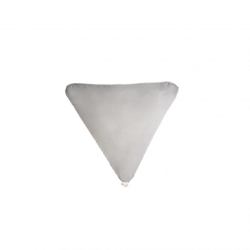 Pufa trójkątna duża z łuską gryki - kolory Mindfulness