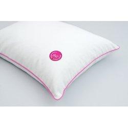 Gaja pillow with spelt hull 30x40 PINK/PINK