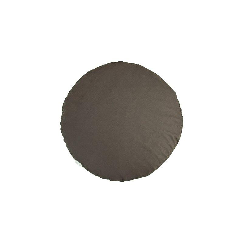 Pufa okrągła duża z łuską płaskurki - kolory Mindfulness