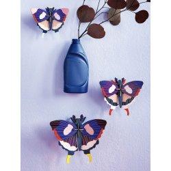 WALL DECORATION - SWALLOWTAIL BUTTERFLIES SET