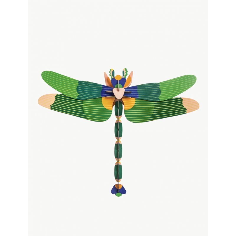 WALL DECORATION - GIANT DRAGONFLY GREEN