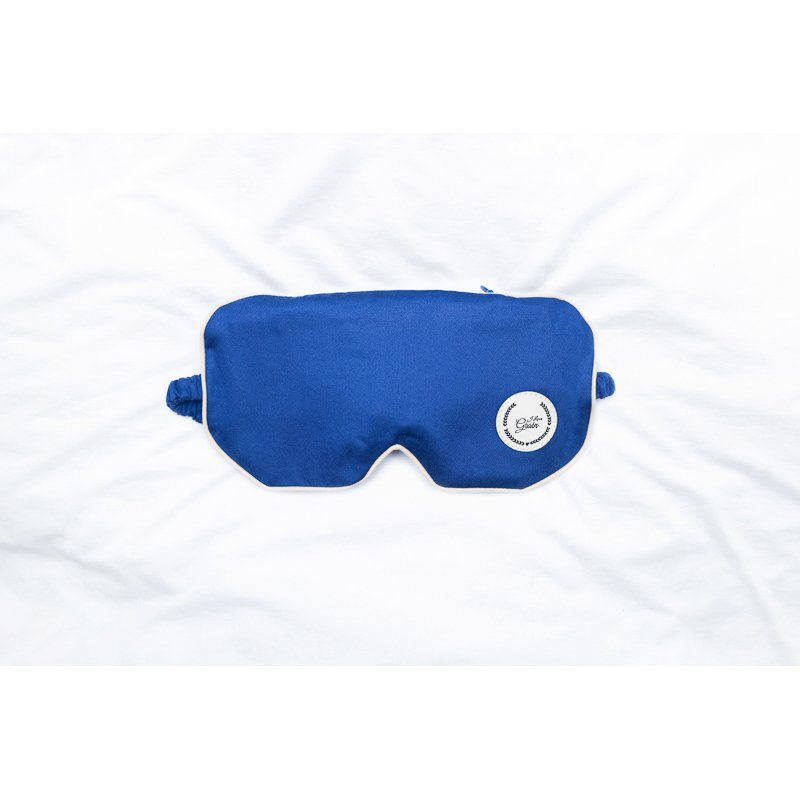 Jet Lag eye mask with mustard seeds - different colours
