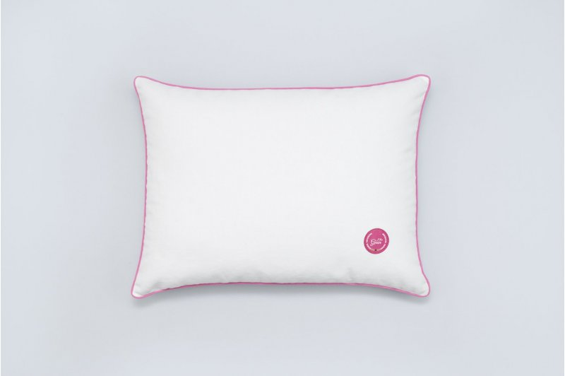 Gaja pillow with emmer hull 30x40 PINK/PINK