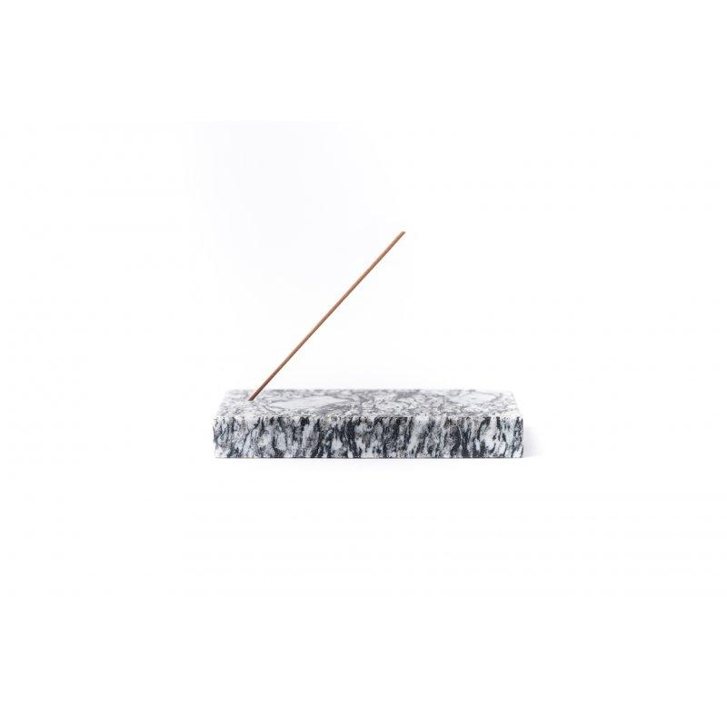Marmurowa podstawka na kadzidełka - granitowa