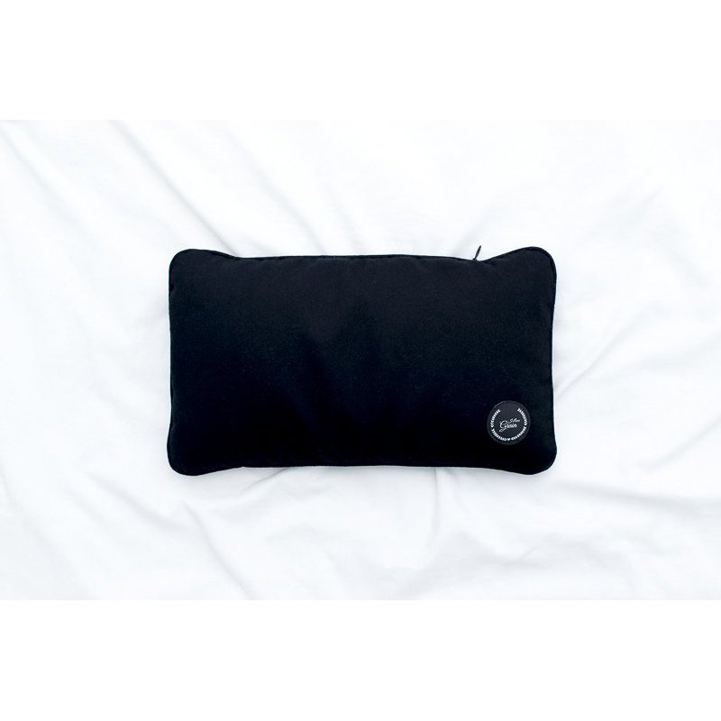 Travel pillow with buckwheat hull 28x17cm - different colours