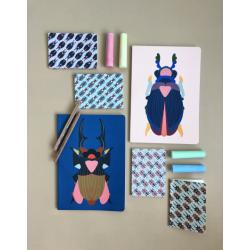 Notebook A6 Studio Roof - Rhinoceros beetle