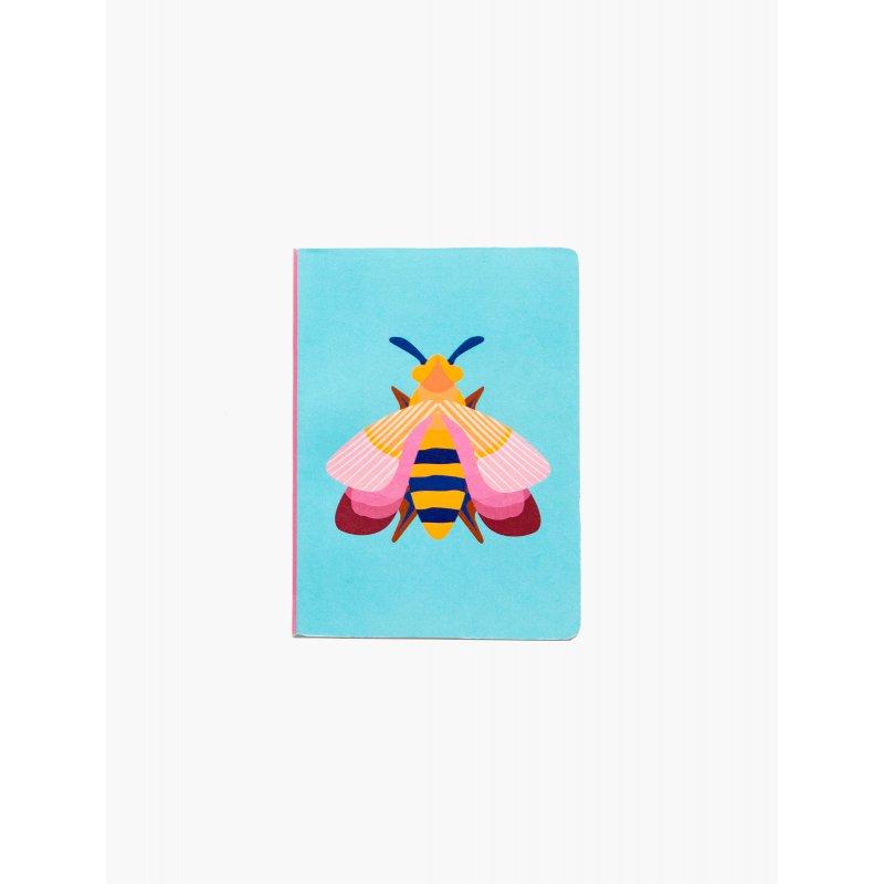Notebook A6 Studio Roof - Pink bee