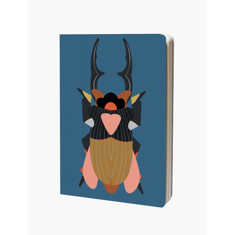 Notebook A4 Studio Roof - Giant Stag beetle