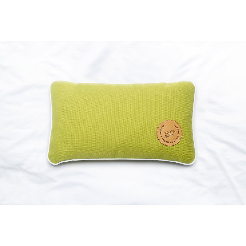 Poduszka podróżna z płatkami sosny 28x17cm - różne kolory - kolekcja Mindfulness