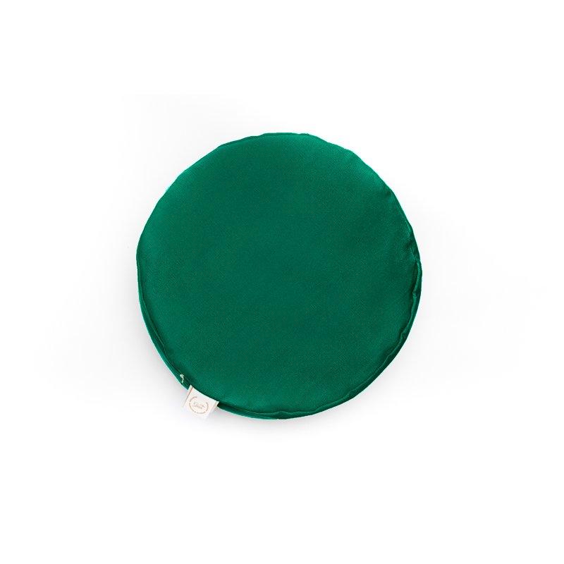 Pufa okrągła duża z łuską orkiszu - kolory Mindfulness