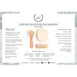 A set of massage brushes - soft